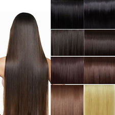 """8PCS 24""""26""""30""""REMY CLIP IN REAL HUMAN HAIR EXTENSIONS 120G,LONG THICK,FULL HEAD"""
