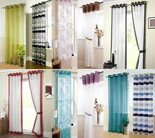 Eyelet Voile Panel Curtains, Ringtop Curtain, Latest Designs