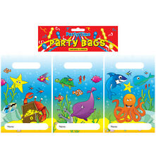 PARTY BAGS BIRTHDAY PARTY - 10 THEMES - PACKS OF 12 WITH 3 VARIATIONS
