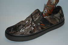 NEW NWT CROCS HOVER REALTREE CAMO canvas shoes 9 10 11 12 SLIP ON