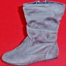 NEW Girl's Toddler's KK ADA Gray Fashion Tall Casual Comfort Dress Shoes/Boots