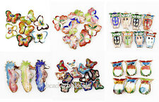 20pcs High Quality Butterfly/Seahorse/Owl Cloisonne Beads Spacer Pendants