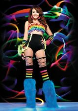 NEW Sexy Women's High Waisted Dance Clubbing Shorts Pants Neon Pink Blue Black
