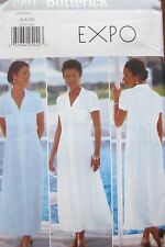 4991 Vintage Butterick SEWING Pattern Misses EXPO Dress UNCUT OOP NEW FF Easy