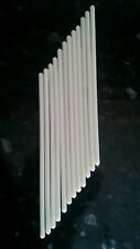 """Cake dowels white plastic 12"""" long for pillars and stacked cakes new UK stock"""