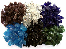 Glass Chippings / Pebbles / Stones - Various Quantities and Colours