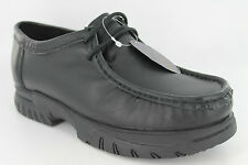 BOYS GASS BLACK LEATHER FORMAL SHOES STYLE - BRANDON