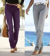 "BNWT UNION BLUE 36"" INCH EXTRA LONG LEG JEANS FOR TALL WOMEN PURPLE BROWN GREY"