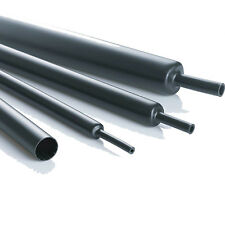 BLACK HEAT SHRINK TUBE SLEEVE DIFFERENT SIZES & LENGTHS - WIRING, ELECTRICAL