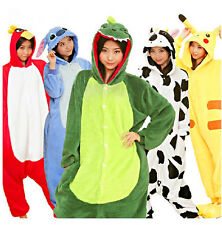 NEW Unisex Kigurumi Adult Pajamas Costume Cosplay Pyjamas Sleepsuit Animal Anime