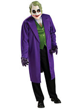 Adult The Joker Classic Fancy Dress Costume Batman Dark Knight Rises BN