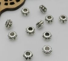 Free Ship 100/300Pcs Tibetan Silver Spacer Beads For Jewelry Making DIY 3x5mm