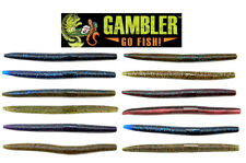 "GAMBLER ACE STICK BAITS 5""  8 PACK select colors"