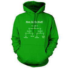 DIY Guide - How to Fix stuff - Unisex Hoodie - 9 Colours - Funny