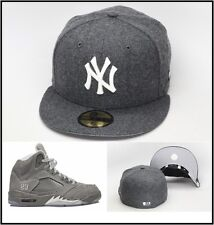 New Era New York Yankees Fitted Hat For Jordan 5 V 3 WOLF GREY yeezy boost 350