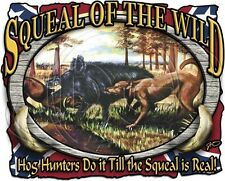 Dixie Long Sleeve Shirt Squeal of The Wild Boar Hunter Hunting South Rebel Hog