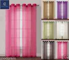 Carlson™ Sheer Grommet Panels by Victoria Classics Ltd.™ In 5 Colors