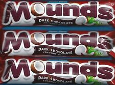 Peter Paul ~ MOUNDS ~ Dark Chocolate Coconut Filled ~ 1.75 oz (49g)  Bars