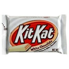 Hershey's ~ KIT KAT  WHITE ~ Crisp Wafers in White Chocolate ~1.5 oz  (42g)