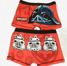 Angry Birds Star Wars Boys Boxer Short Trunks Age 4-10 Years Available