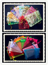 FREE Lot TOP Organza Jewellery Xmas Holidays Cards Party Supplies Gift Wrap Bags