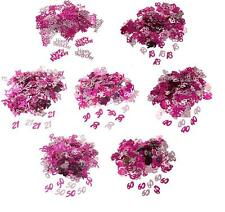 Pink Shimmer Table Confetti Sprinkles Decoration 18th 21st 30th 40th 50th 60th