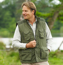 Champion Mens Exmoor Country Fishing Outdoors Bodywarmer - Olive