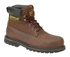 Caterpillar Holton SB Safety boots - brown - Techni-Flex outsole