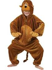Kids Monkey Fancy Dress Costume Animal Ape Costume Jungle Book Week New Outfit