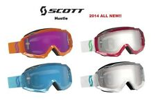2014 Scott Hustle Goggles Womens Girls Snowboarding Sking Down hill Slolam Lens