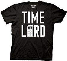 Doctor Who Time Lord with Tardis Adult T-Shirt