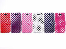 Polka Dot PU Leather Wallet Flip Cover Case Skin For Apple iPhone 5C