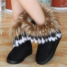 Womens Ankle boots Autumn Winter Snow Boots Warm Fur Shoes for womens new cheap