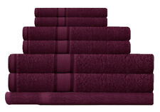 Shiraz 100%  Cotton Bath Towel Range 7 Pieces Set or Single Pieces Choice