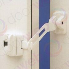 UPVC Door Window Chain Restrictor Ventilation Safety T Bar Kit Child Door Lock