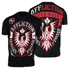 Affliction Georges St. Pierre GSP Rush T-Shirt (Black) - mma bjj ufc