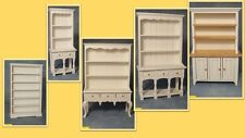 dolls house miniature 1:12 scale  white dressers 5 to choose from.