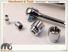 "Husky 1/4"" 3/8"" Dr. Regular /Deep Socket Metric/SAE & Accessories Made in Taiwan"