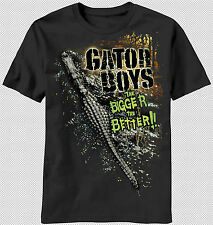 New Discovery Channel Gator Boys TV Show Bigger the Better T-shirt top alligator