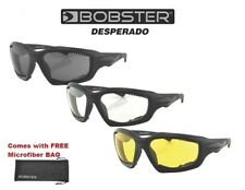 Bobster Sunglasses DESPERADO WITH SMOKE LENS Womens Girls Riding Padded Shades