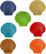 "5"" Ceramic Seashells for Swimming Pool or Wall - 7 colors - Free Shipping"