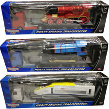 TEAMSTERZ 1:60 SCALE HEAVY ENGINE TRANSPORTER TRAILER KIDS CHILDREN TOY GIFT NEW
