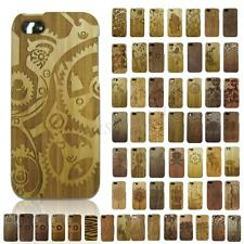 Retro Real Wood Wooden Pattern Design Hard Case Cover for Apple iPhone 5 5G 5S