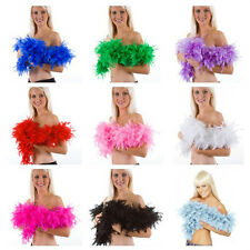Gift 2M Dressup Costume Wedding Party Home Flower Craft Fluffy Feather Boa Decor