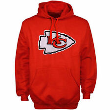 NFL Kansas City Chiefs Red Signature Logo Pullover Hoodie Jacket