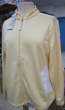 UNDER ARMOUR Jacket GOLF Cold Gear Lightweight UPF 30+ YELLOW Large & XL NEW TAG