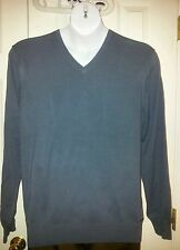 NWT Calvin Klein Men's V-Neck Sweaters. Multiple Colors and Sizes. Retail $79