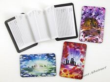 Standing Stones Credit Card Sized Magnetic Address Book (Choice of Images) ~ New