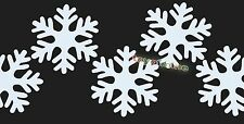Decorate Xmas decor snow wall window glass stickers wall snowflake door Decal