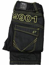 NEW BOYS TODDLERS EBB85 BLACK COATED ETO BRAND STRAIGHT LEG JEANS 3-8 YEARS